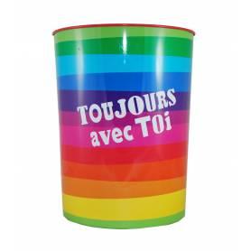 Conté Crayons de Couleur Aquarellables - Couleurs Assorties, Boîte en Métal de 24 + 1 Pinceau