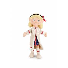 Trolley Backpack Girl 38 cm IKKS Nomad Pink