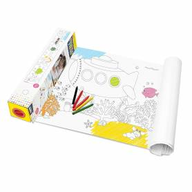 Trolley Backpack Boy 38 cm IKKS Pilot Blue