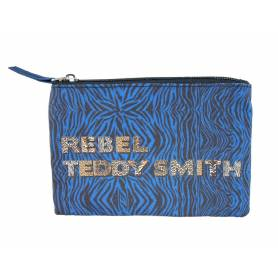 Wheeled Backpack Real Madrid 47 cm 2 Compartments Blue