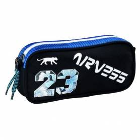 Trousse Real Madrid Double Compartiments Bleu 23 cm